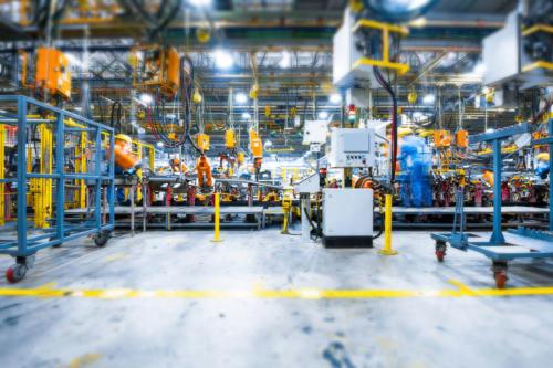elementy wyposażenia fabryk, linie produkcyjne