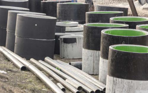 Elewatory, kręgi betonowe